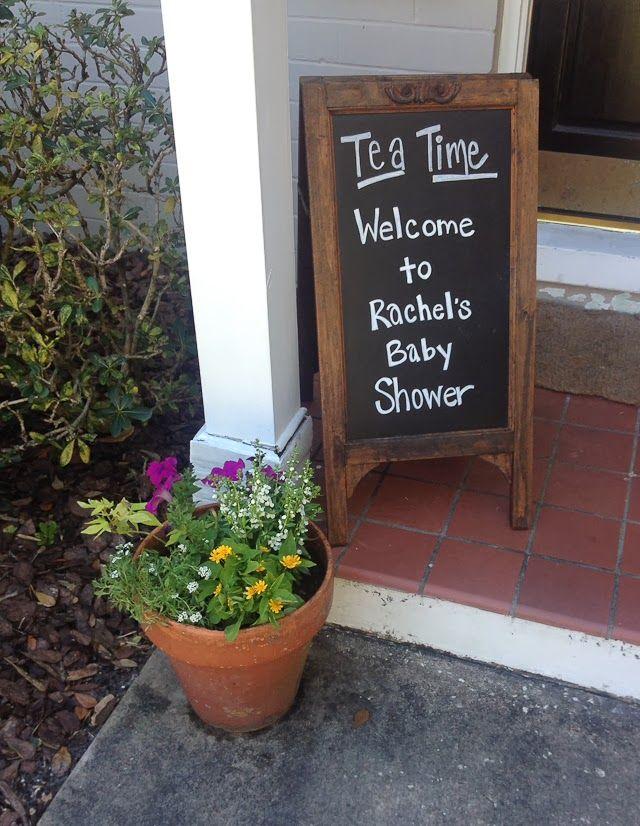 Garden Tea Party Themed Baby Shower | love & zest