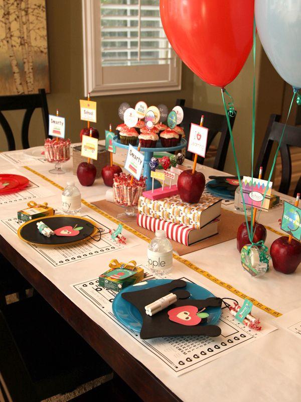 best 25+ school centerpieces ideas on pinterest   grad party