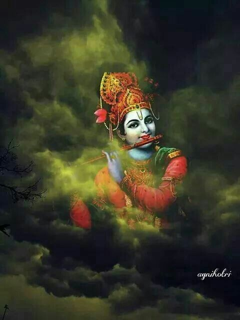 Govind which is a name in Hinduism given to the god Krishna.