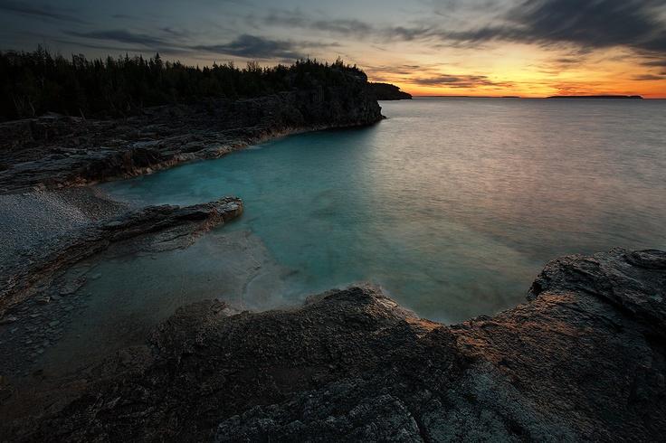 Bruce Peninsula National Park, Ontario,   Canada.
