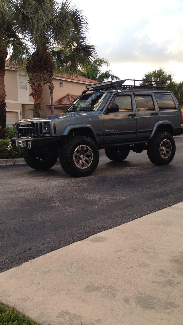My 1999 Jeep Cherokee Sport