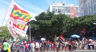 Pregopontocom Tudo: Rio tem mais um dia de protestos contra Temer