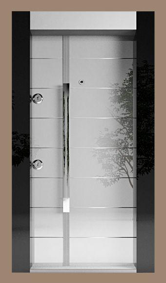 Safeport Antalya Çelik Kapı – Cam Kapılar Serisi CM-1008