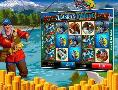 Играть в казино Вулкан на автомате Alaskan Fishing Играя на автомате Alaskan Fishing в казино вулкан, могут приятно провести время не только заядлые рыбаки, но и любители хорошего отдыха с деньгами, ведь здесь представлены все составляющие отличного дня на природе, хотя симво