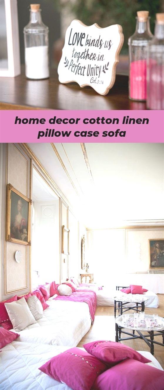 home decor cotton linen pillow case sofa_165_20190321014405_62 #home