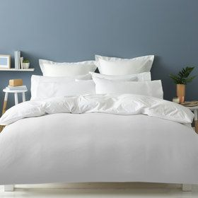 Waffle Quilt Cover Set - Queen Bed