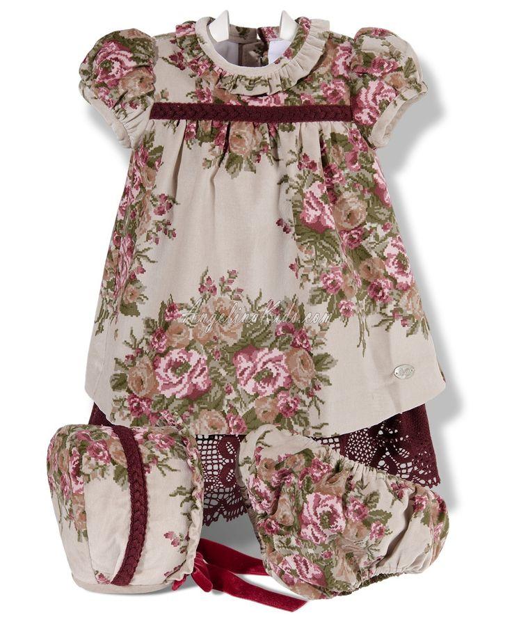 Vestido con capota estampado floral