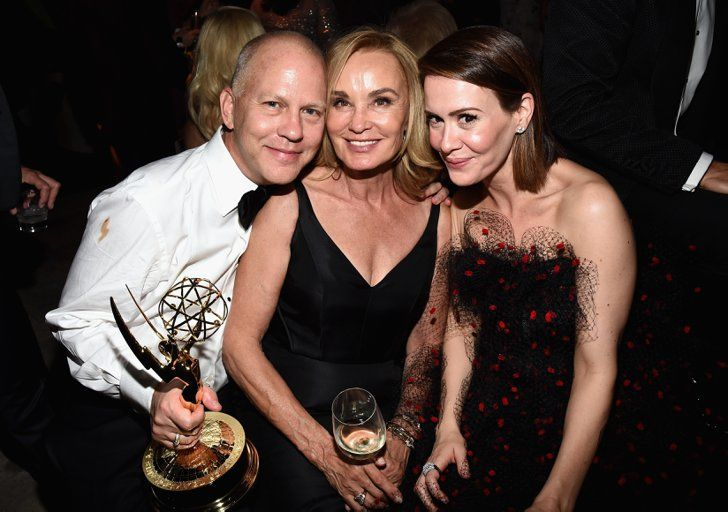 Pin for Later: Best Night Ever? These Stars Had the Most Fun After the Emmys  Ryan Murphy, Jessica Lange, and Sarah Paulson celebrated together at the Fox/FX bash.