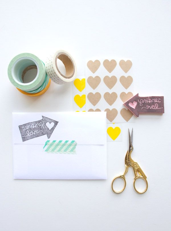 DIY Carved Stamp | Lovely Indeed