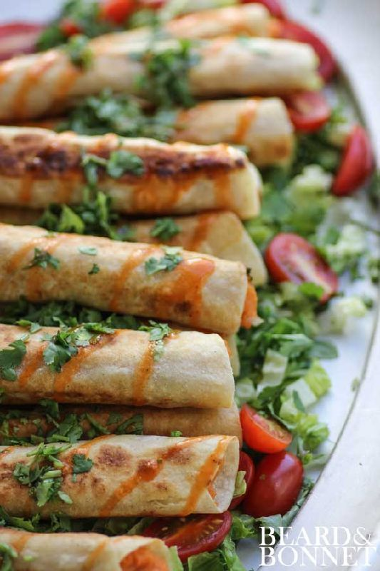 Sweet Potato & Lime Taquitos (Gluten Free & Vegan)