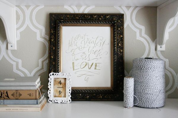 greatest is love print by Lindsay Letters available at www.jonesdesigncompany.com (and on sale now!)