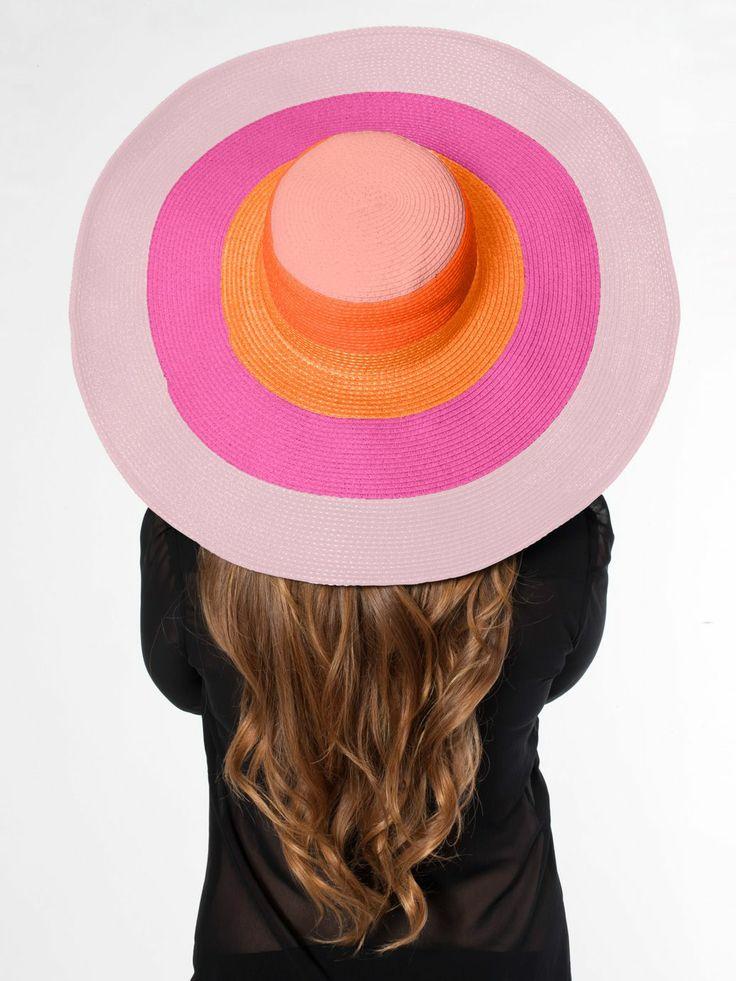 Multicolor Floppy Summer Hat. #AmericanApparel