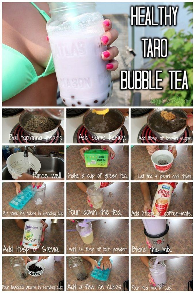 VIDEO : Healthy Summer Recipes : Taro Green Tea Bubble Tea + 3 Quick&Easy Popsicles DIY