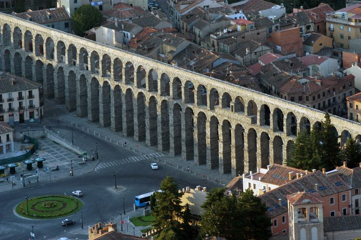 Acueducto, Segovia, Spain - I have been here! I'll never forget how amazing it is.