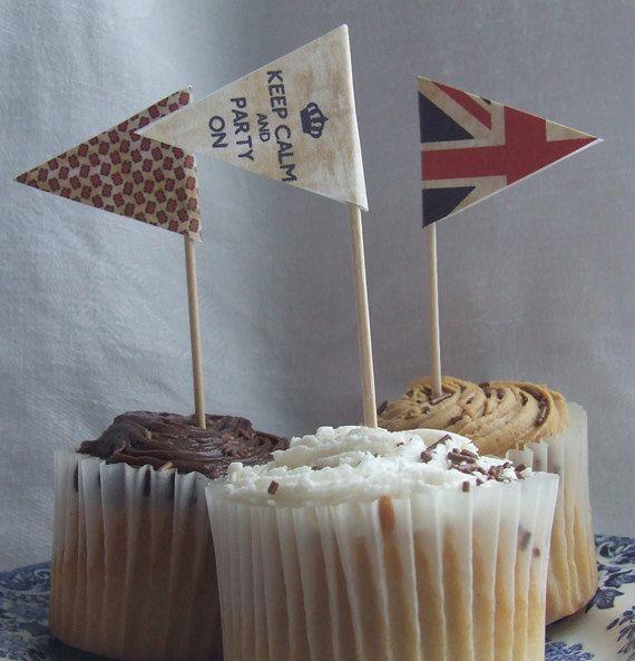 Digital Download  Mini Vintage Jubilee Union Jack by Ainjewelz, £2.50