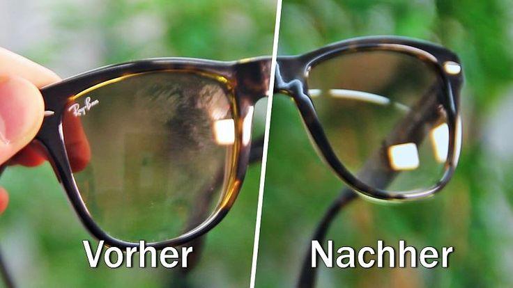 Eine Brille oder Sonnenbrille wieder wie neu strahlen zu lassen ist gar nicht so einfach. Flecken, fettige Abdrücke und sonstige Rückstände lassen Brillengläser und Fassung mit der Zeit matt werden. Mit einem einfachen Hausmittel bekommst du deine Brille super sauber: Essigessenz.