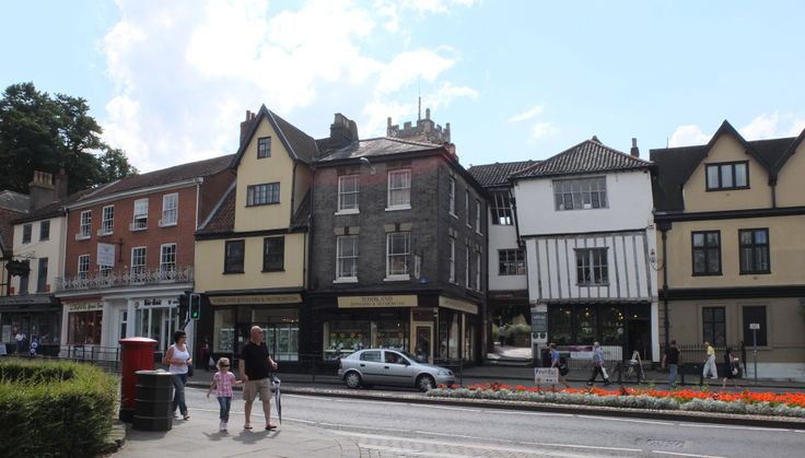 Tombland, Norwich Cathedral Quarter