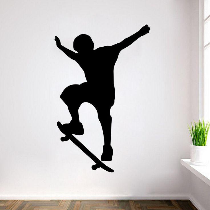 25 beste idee n over jongens skateboard kamer op pinterest - Jongen kamer decoratie idee ...