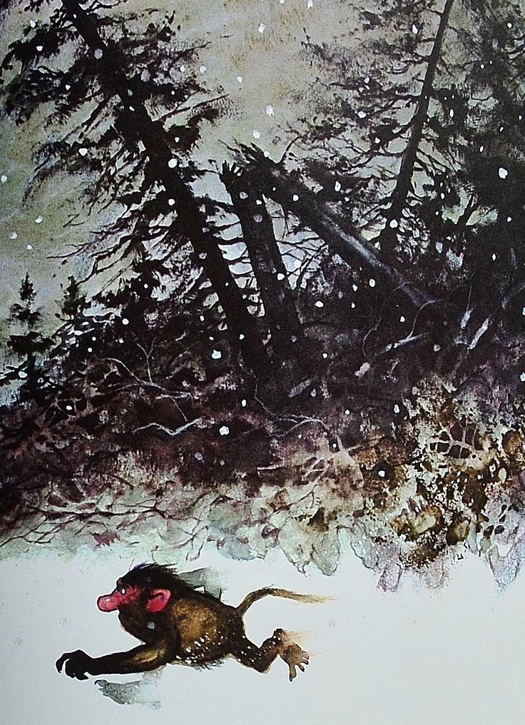 """""""Winter Troll"""" by Rien Poortvliet"""