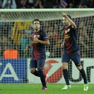 Andrés Iniesta, FC Barcelona. | FC Barcelona 2-1 Celtic. 23.10.12.