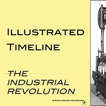 005 Industrial Revolution Activity Illustrated Timeline