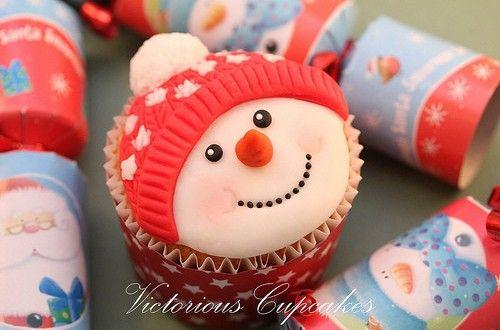 Hình Ảnh Bánh Cupcake Cho Giáng Sinh Dễ Thương