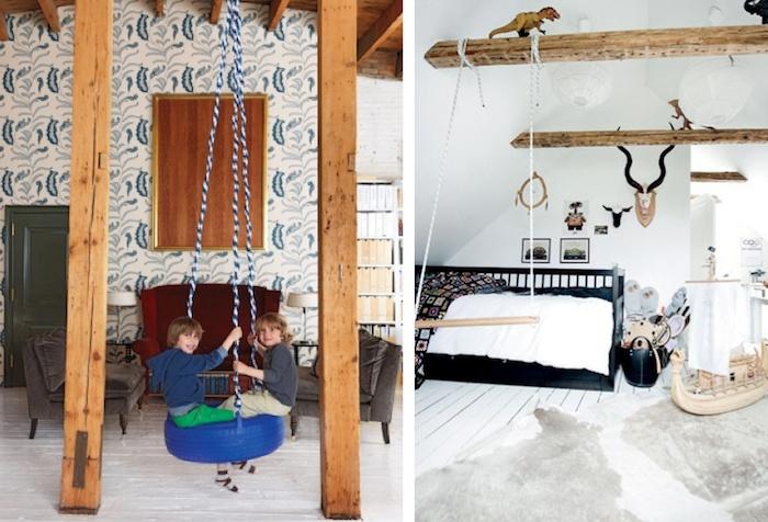 Best 25 kids swing ideas on pinterest burlap baby baby for Swing for kids room