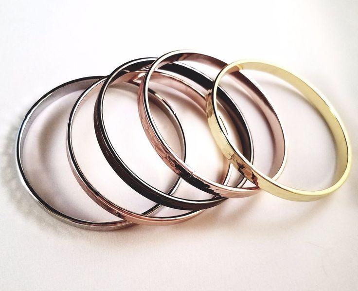 "Park Lane ""DOMINIQUE"" Bracelet Set of 5 Bangles #JewelsbyParkLane #Bangle"