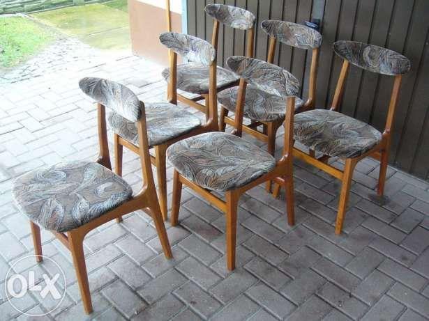 Komplet 6szt. Krzeseł Design PRL Typ 200-190 Lata 60/70 Częstochowa - image 2 6 szt 650 zł