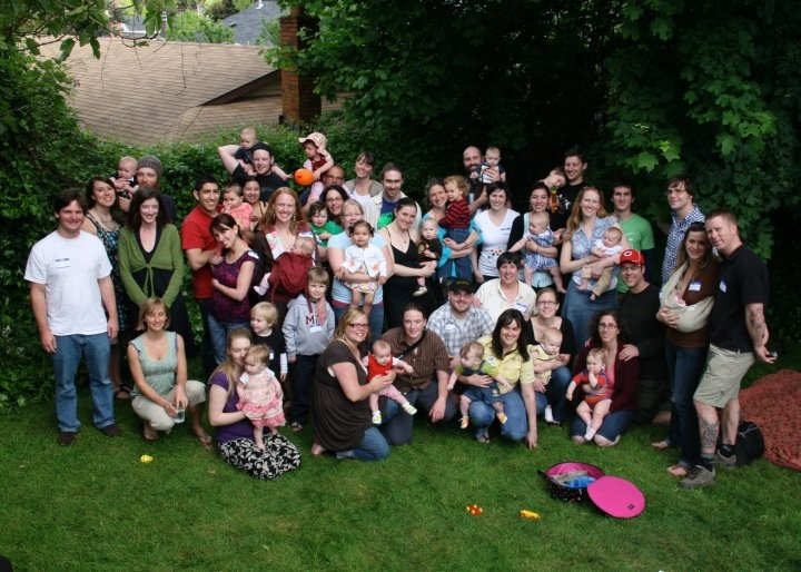 Every year we have a Mothers Day picnic with our clients.  It gets bigger and bigger every year!  Such a beautiful way to keep in touch and watch all of the little ones grow.