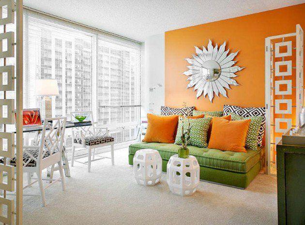 Die besten 25+ Orange wohnzimmermöbel Ideen auf Pinterest Orange - wohnzimmer orange schwarz