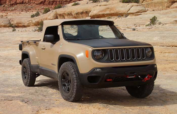 2018 Jeep Comanche overview