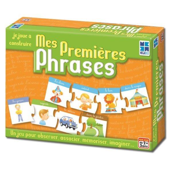 Stimuler le langage ne doit pas être pénible. Ce jeux permet de travailler le vocabulaire, l'imagination, la capacité de raconter ( langage oral et réceptif ) . Petit plus : il s'adapte facilement selon l`âge !
