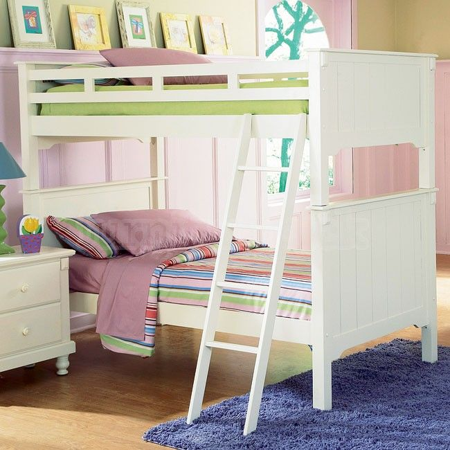 Pottery Bunk Bed White For Kids From Furniturepick
