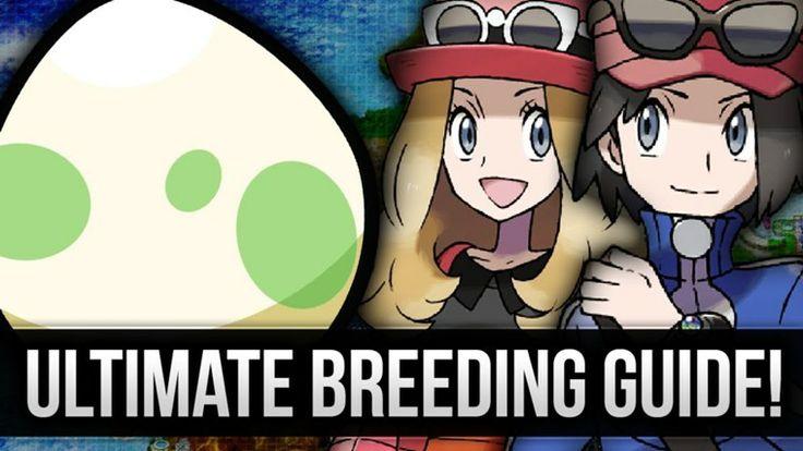 Pokemon X and Y Breeding Guide