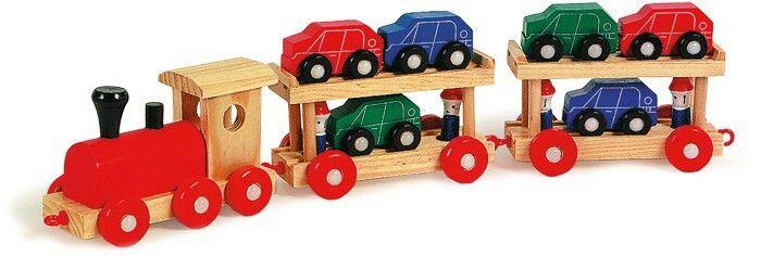 Trenino in legno LEGLER