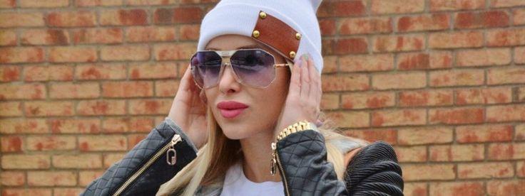 Slnečné okuliare CAZAL v teplákovom outfite