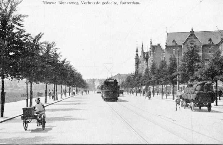 Nieuwe Binnenweg Rotterdam (jaartal: 1910 tot 1920) - Foto's SERC