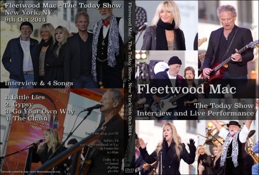 Fleetwood Mac - Today Show 2014