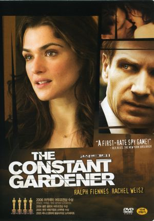 The Constant Gardener (2005) Justin Quayle, a member of the British High Commission based in Africa, launches a quest for the truth and begins his own international investigation when his wife is murdered. But he uncovers a conspiracy more dangerous than he could have imagined. Ralph Fiennes, Rachel Weisz, Hubert Koundé...TS suspense