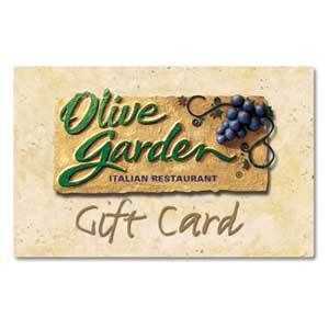 Enter to Win a $75 Olive Garden Gift Card