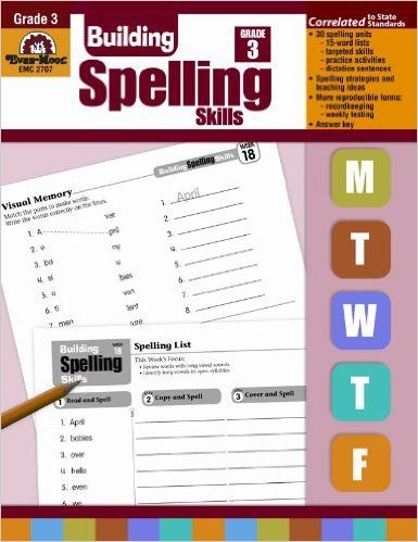 Building Spelling Skills: Grade 3 – 30% off! Number of stars: 4.5 out of 5. In Building Spelling Skills Daily Practice, Grade 3, students will learn 15 spelling words per week (450 total). Three sentences for dictation are provided for each list. Spelling lists include the following: contractions, blends, vowel sounds, prefixes and suffixes, compound …