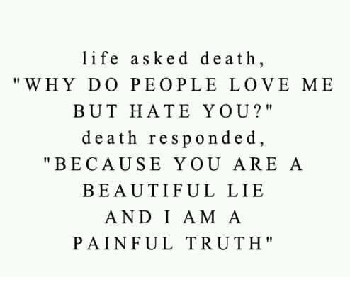 Life Asked Death
