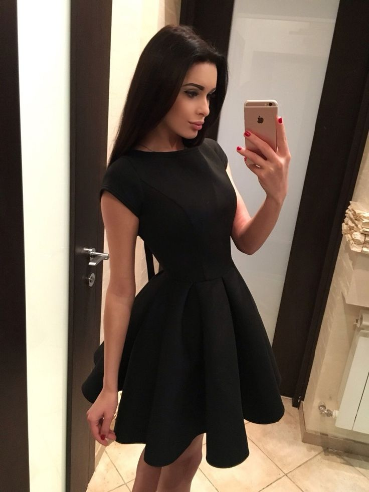 Women's Cute Backless Bow Dress
