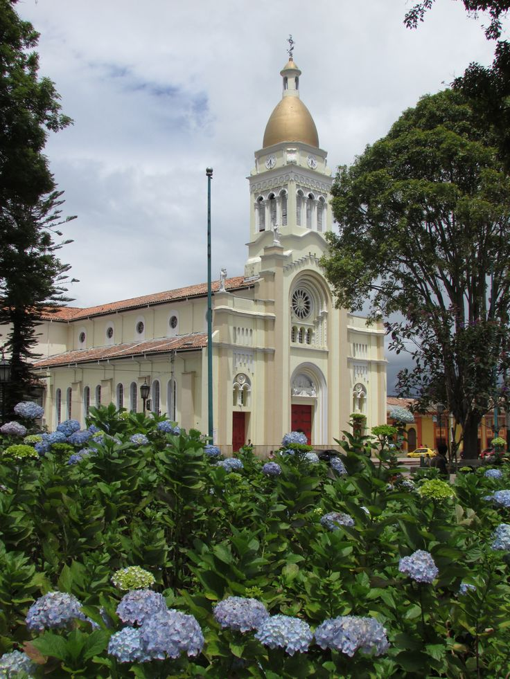 "Cajicá Iglesia, Cundinamarca, Colombia (24 mi) north of Bogotá. The town name Cajicá is derived from two words cercado (fortress) and jica (stone), nickname ""The Stone Fortress"".  http://en.wikipedia.org/wiki/Cajic%C3%A1"