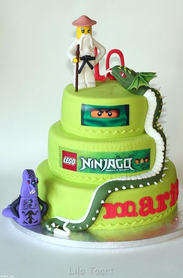 Ninjago the Great Devourer Cake
