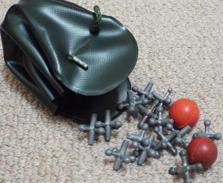 Bag of Vintage Fivestones / Jacks / Knucklebones Game