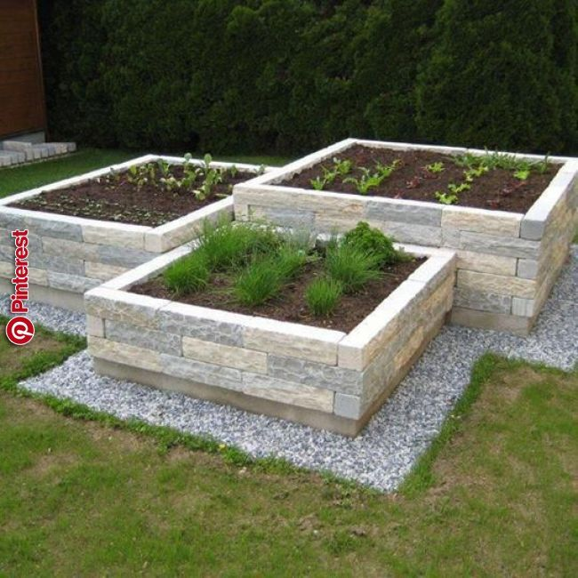 Love The Flower Beds Outlined With The Landscaping Rocks