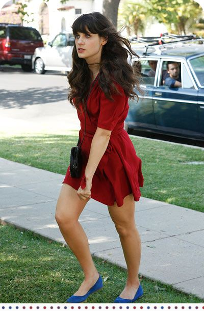 If I could have anyone's wardrobe (realistically) it'd be Jessica Day's! #zooeydeschanelisadorbs