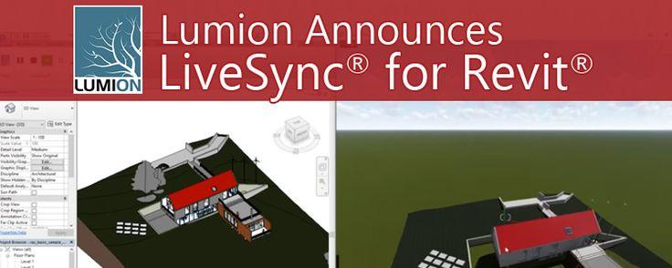 Lumion Announces LiveSync for Revit